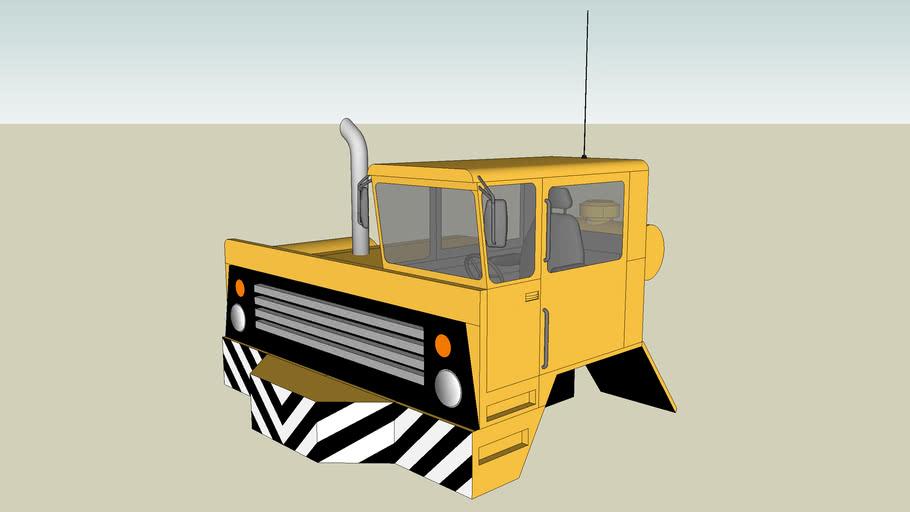 Extra Heavy Duty Flatbed Transporter Cab