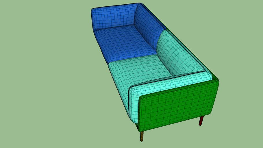 Paste 2.5 seater sofa