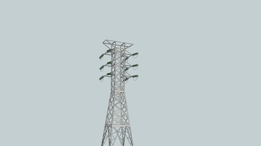torre da subestação de andries both
