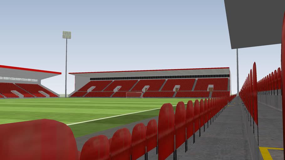 14592 Capacity Football Ground