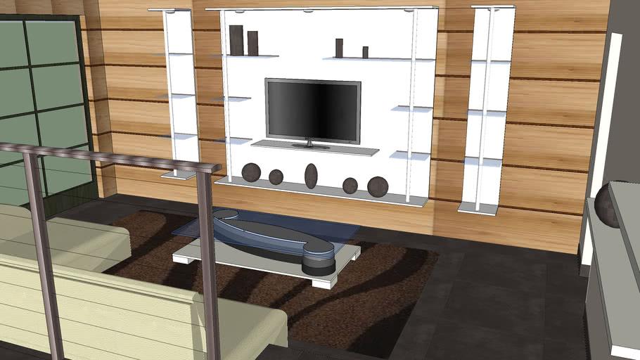 salon moderne | 3D Warehouse
