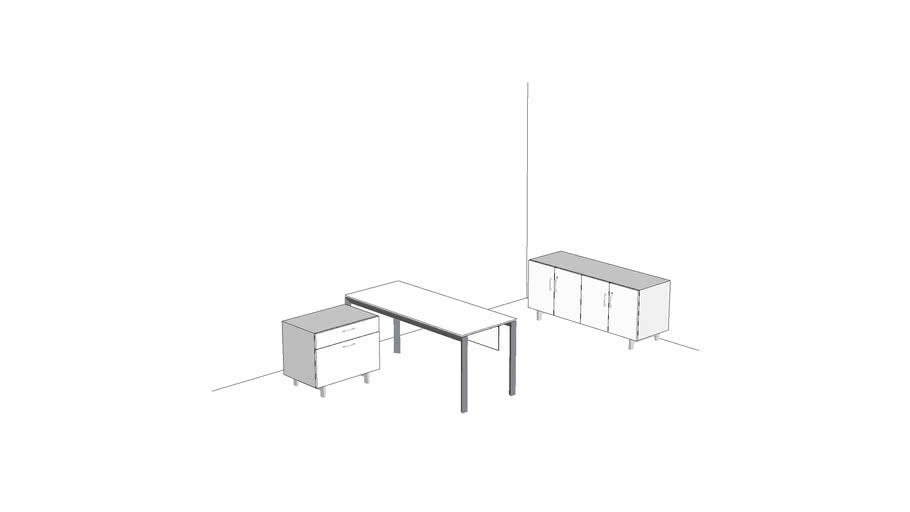 Watson Miro Private Office 8' x 14' #PRVMI007