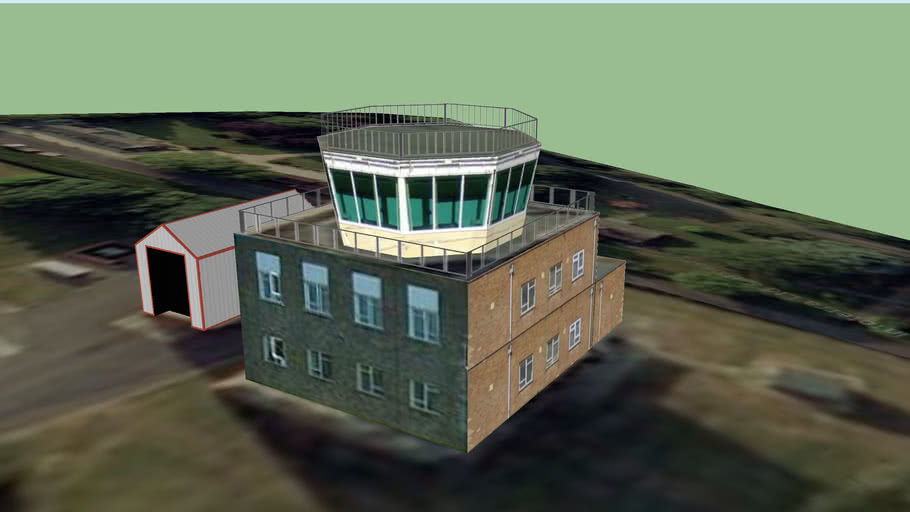 Colerne Airfield Control Tower, Wiltshire
