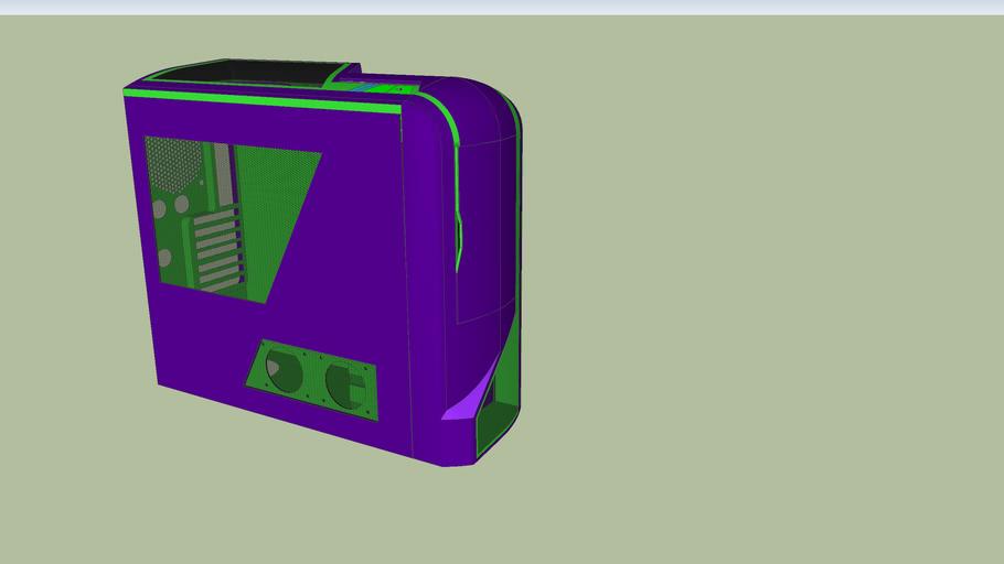 NZXT phantum purplegreen