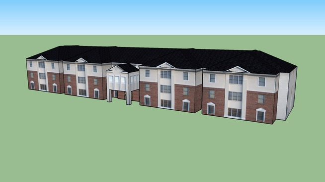 Waterfield Campus Student Housing  Building E