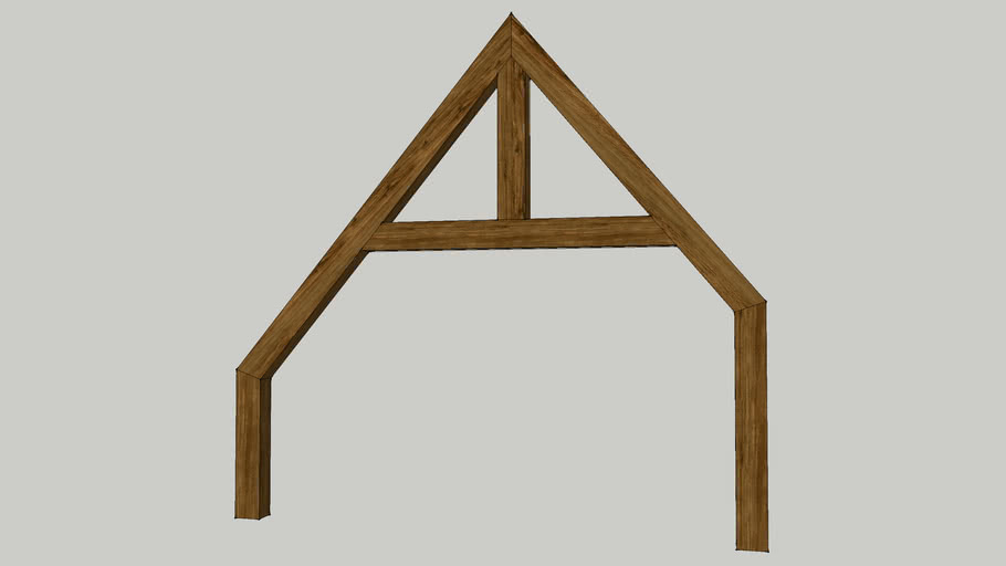 houten vakwerkspant david