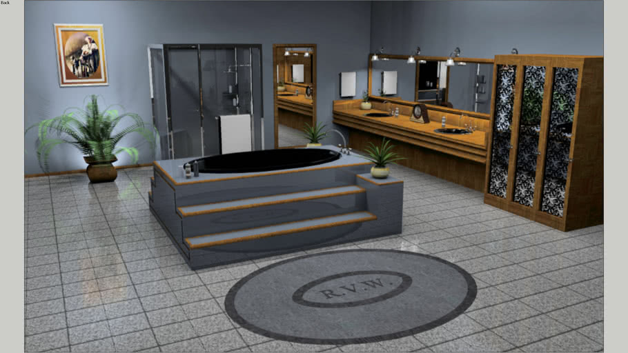 BATHROOM, NOT A RESTROOM