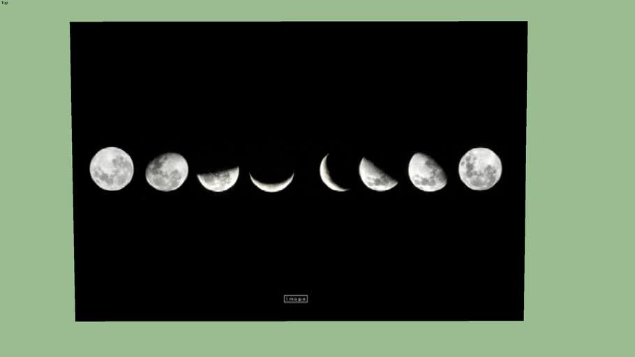 Fases da Lua - Cód.: 050