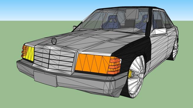 Mercedes E190 Tuning