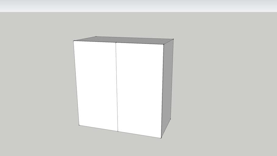 GZ 80 wall-w80 shelf-white
