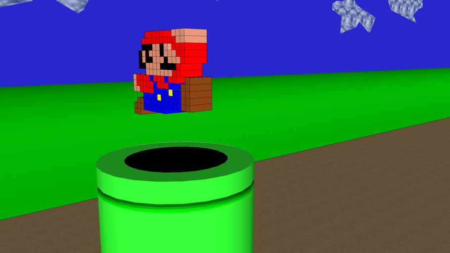Mario 64 scene
