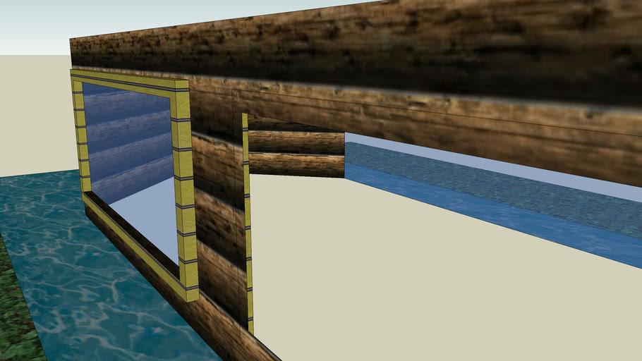 unfinshed barge