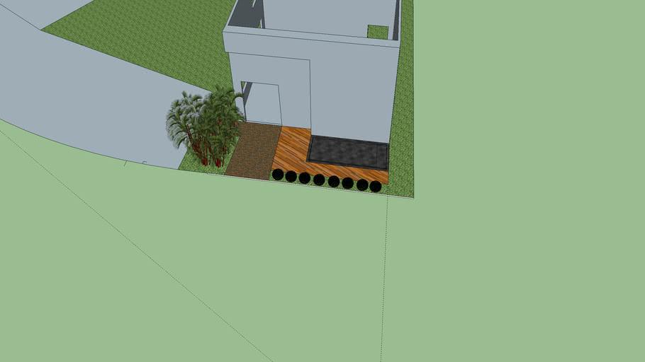 3d vitrine verde