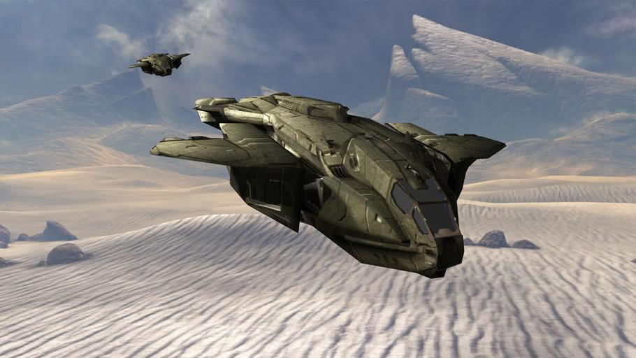 Halo 3 D77H_TCI_Pelican (not 2d)