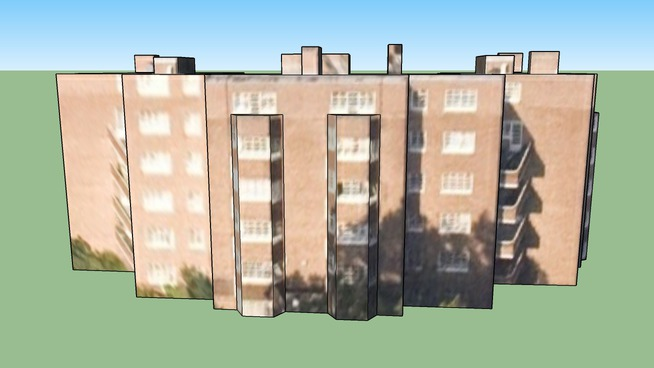 Building in Viceroy Close, Birmingham, UK