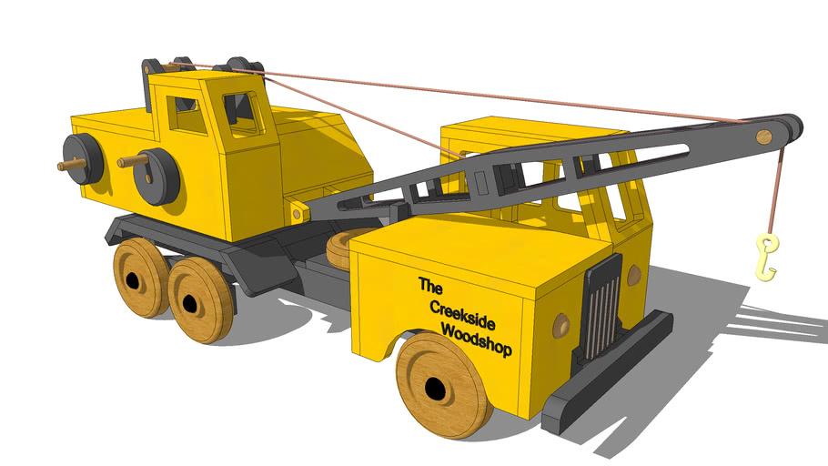 Toy Truck Crane