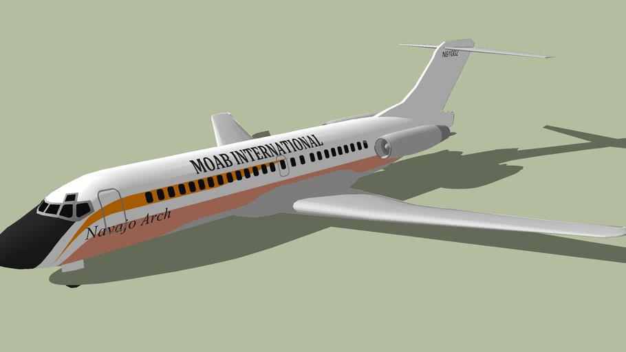 Moab International DC9 14 (1967) [FICTIONAL]