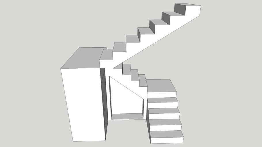 Basic 2 Landing Staircase