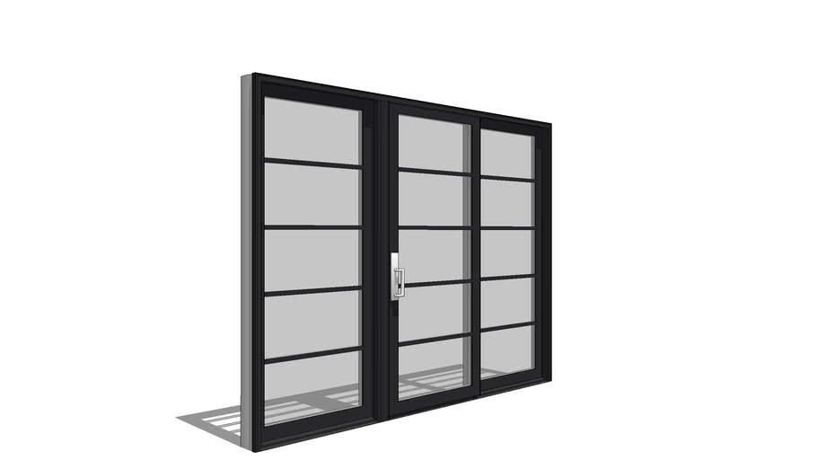 Architect Series Contemporary Sliding, Patio Panels Sliding Doors