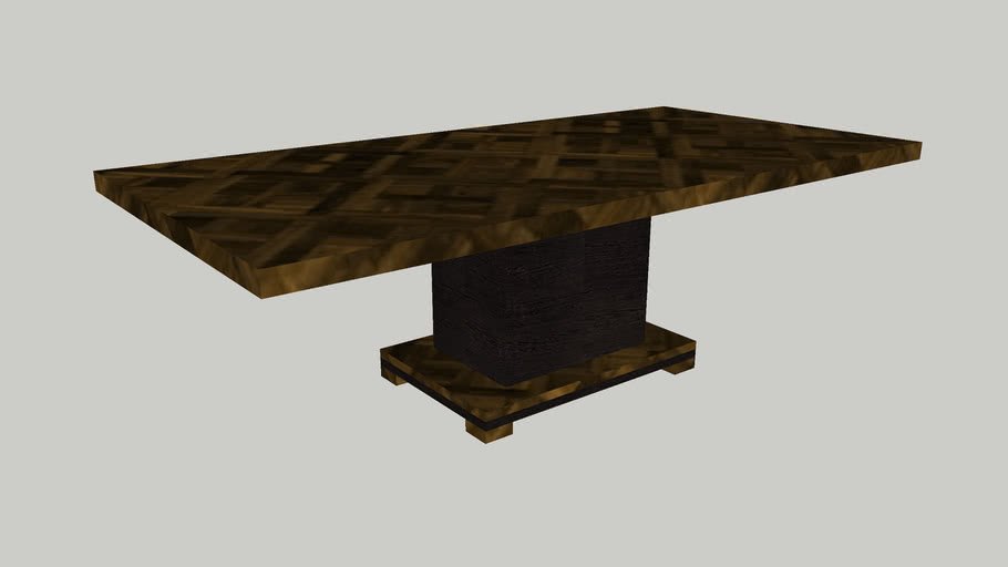 Smania Master Parallel DeLuxe Dining Table