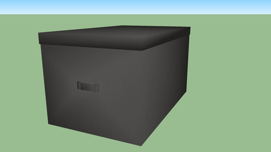 Boîte intissé SPACEO 29cm gris zingué