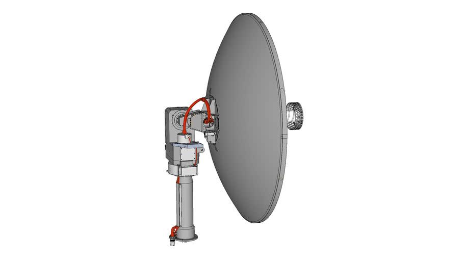 Viking '75 Mars Lander High Gain Antenna Direct Communications System