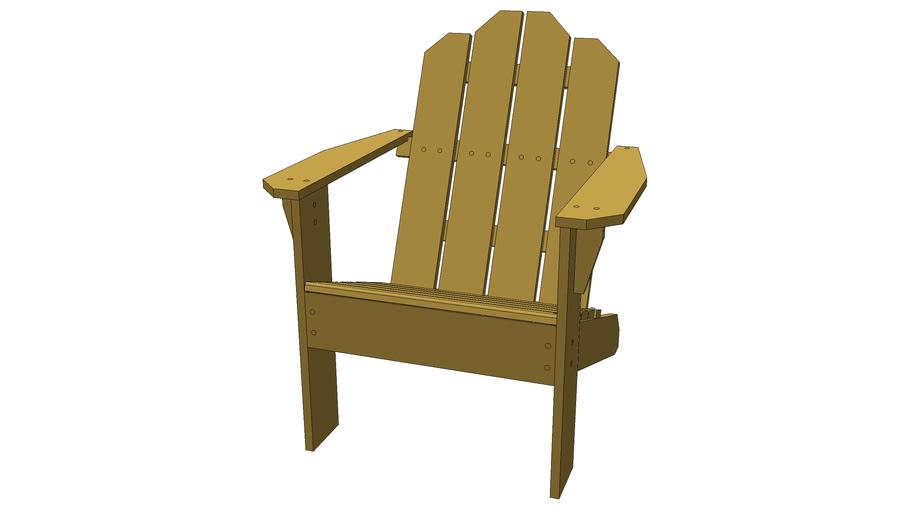 Adirondack woods chair
