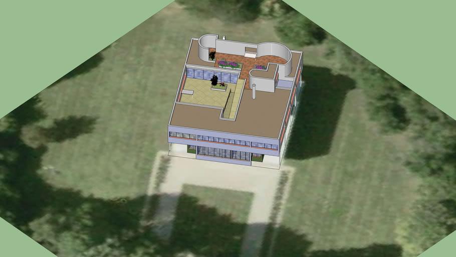 ville_saboye - Le Corbusier-