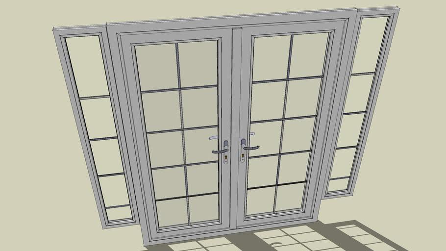Side Windows And Handles Upvc Goldline