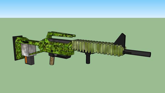 MP16 Bullpup Assult Rifle