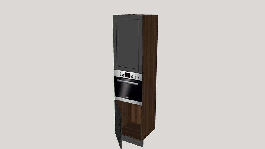 Dynamic kitchen tall oven unit