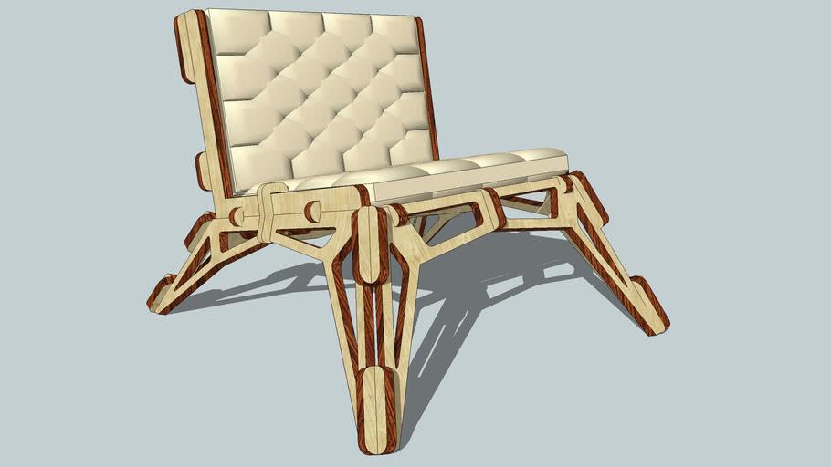 Gustav Düsing Small Chair 23D