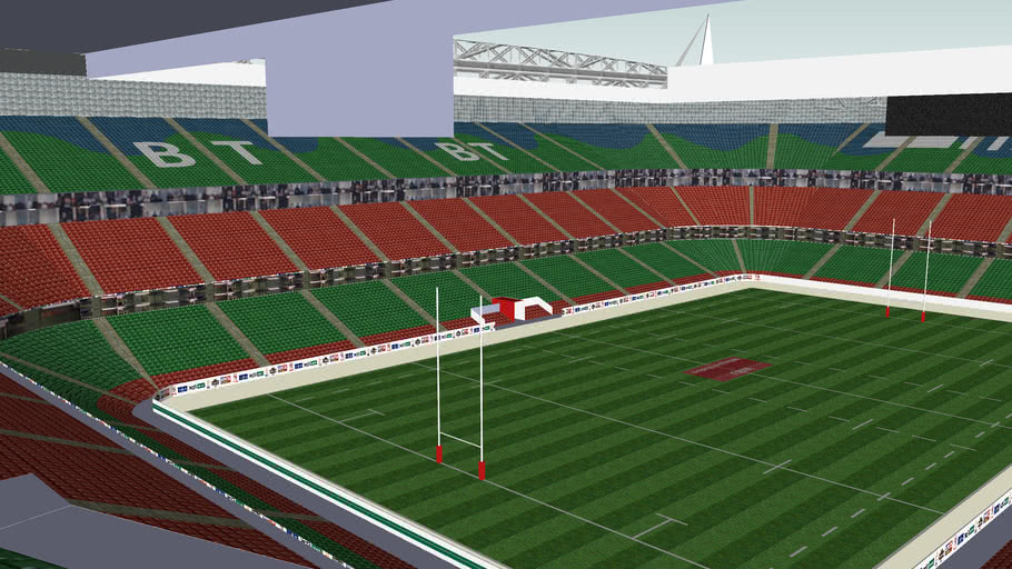 Millenium Stadium, Cardiff - Home of Welsh Rugby