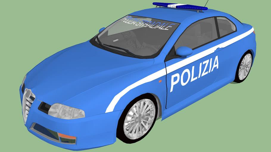 Italian Highway Patrol Alfa GT (Fictional model)