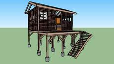 Finntherm Fass Sauna Max 3d Warehouse