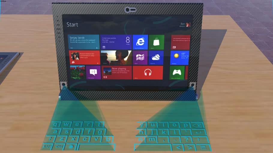 Laptop Concept by HenkieTenk