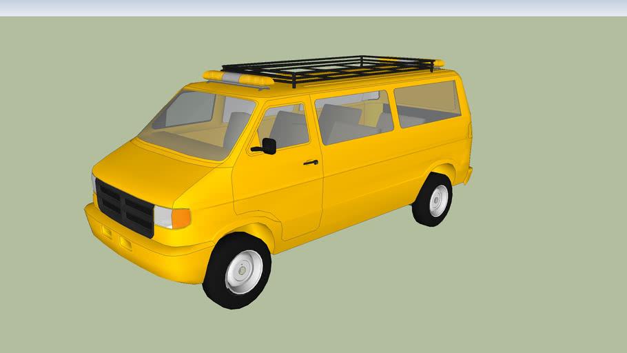 Highway Crew Dodge Van