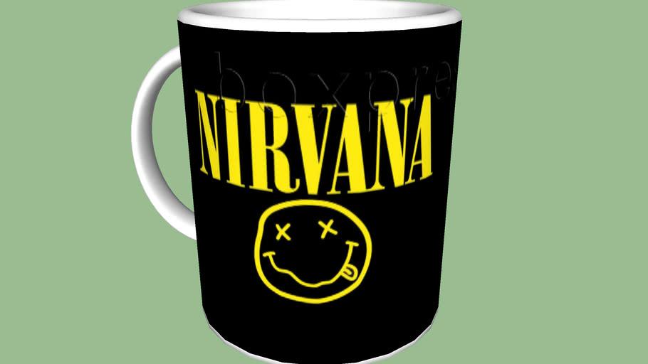 Caneca nirvana mug