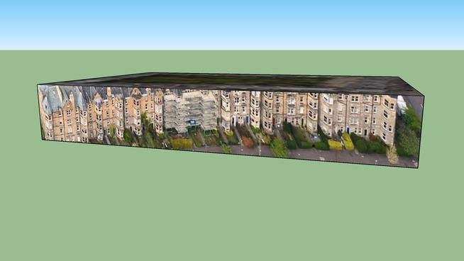 Warrender Park Terrace,Building in Edinburgh EH9 1EE, UK