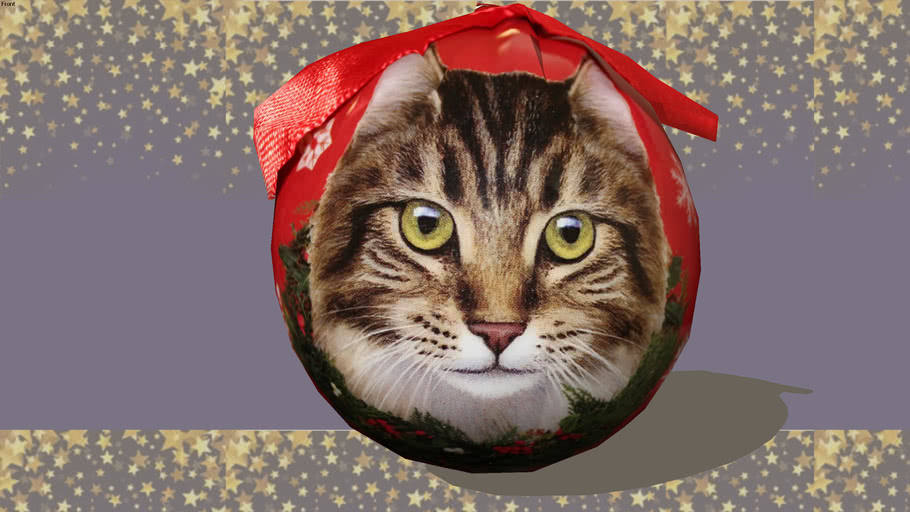 Ornament-Maine-Coon-Cat