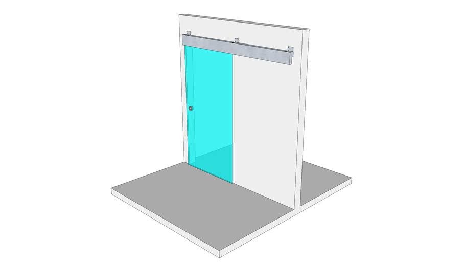 porta di vetro-glass door