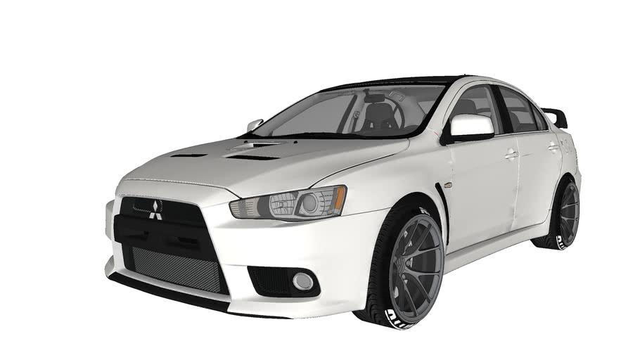 Mitsubishi Lancer EVO tuned