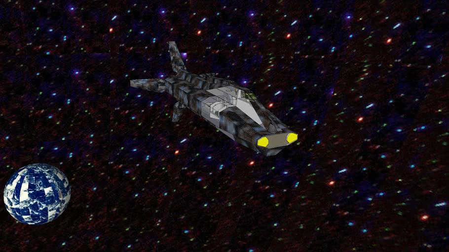 star cruiser on patrol