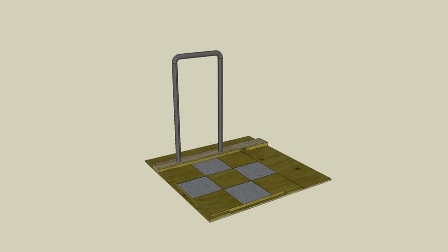 Devout Stealth DDR pad with basic bar mod
