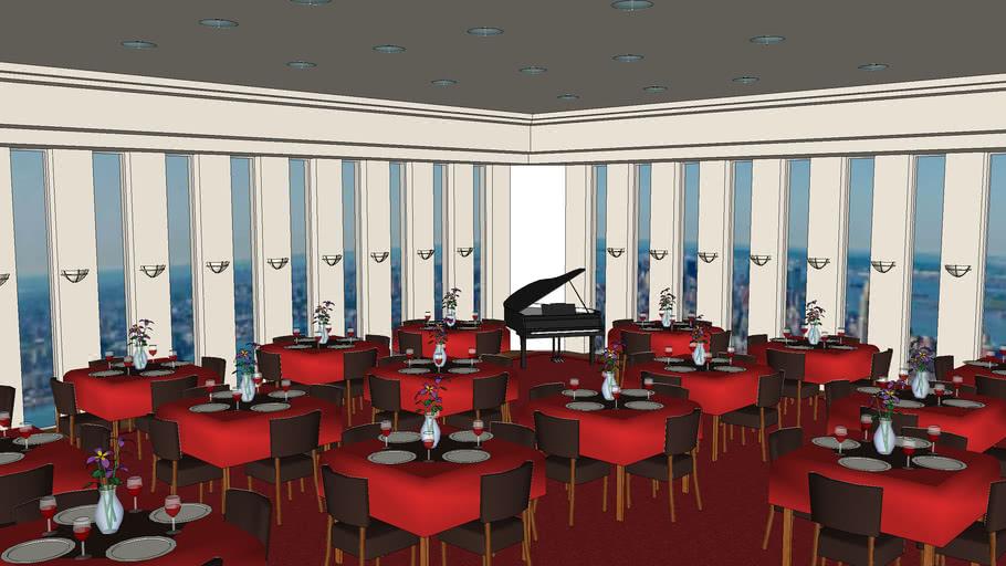World Trade Center  - Restaurant (Top floor)