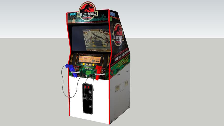 The Lost World: Jurassic Park arcade game