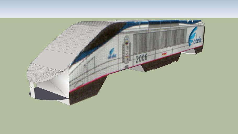 Amtrak Acela Power Car