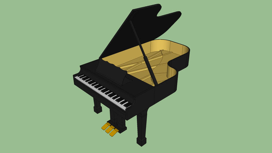 Grand Piano - Made By Lewis071