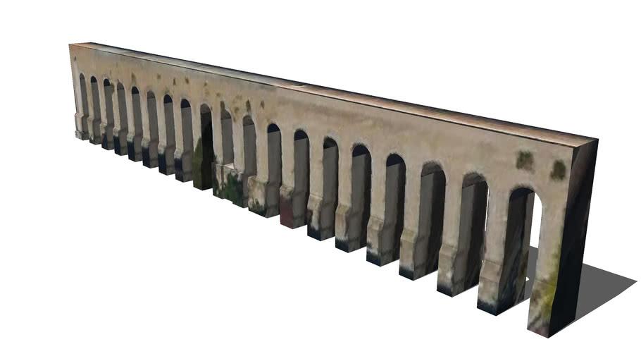 """Fragmento del acueducto """"Aqua Alexandrina"""" - Roma"""