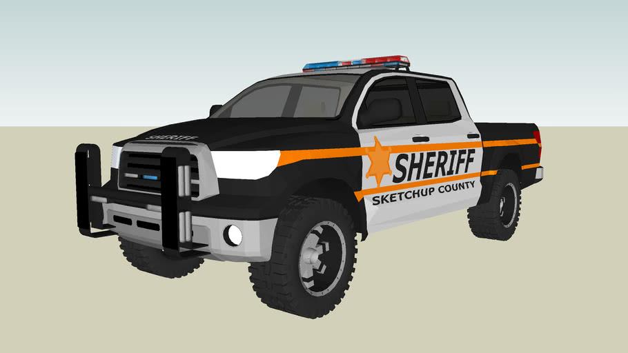 Toyota Tundra Offroad Police Cruiser